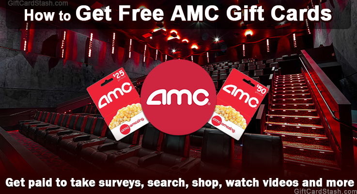 How to get free amc gift cards