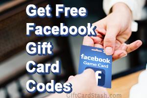 Free Facebook Gift Card Code Generator - Gift Card Stash
