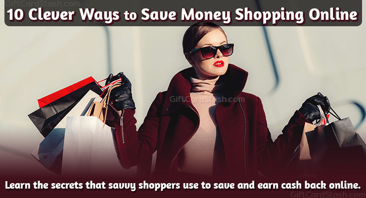 10 clever ways to save money shopping online image