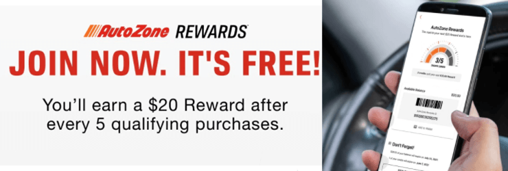 autozone rewards the best free store loyalty program