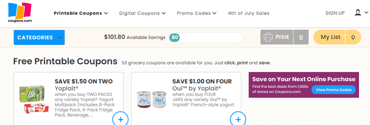 Check coupon websites for additional saving opportunities