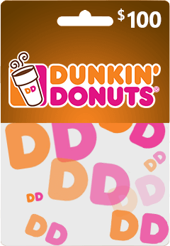 Dunkin' Donunts Gift Card Guides